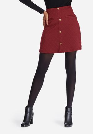 Vero Moda Skyler Skirt Red
