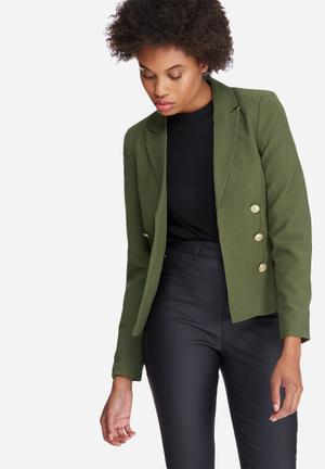Vero Moda Dana Blazer Jackets Green