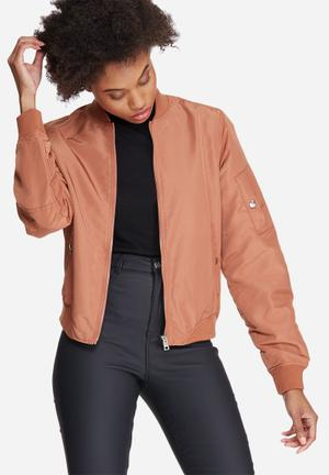 Vero Moda Dicte Bomber Jacket Peach