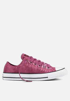 Converse Chuck Taylor All Star Kent Wash Sneakers Magenta Glow/black/white