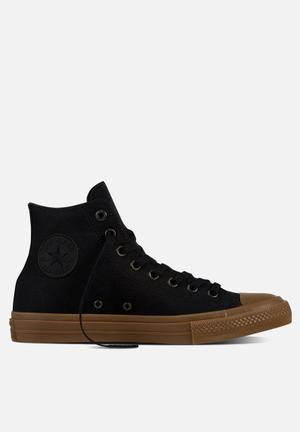 Converse Chuck Taylor All Star II Tencel Canvas Sneakers Black / Gum