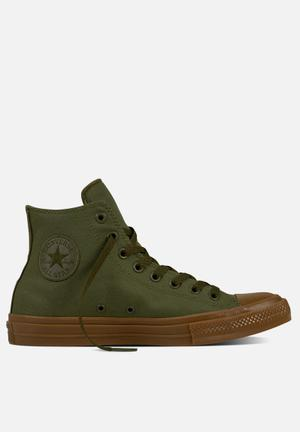 Converse  Chuck Taylor All Star II Tencel Canvas Sneakers Herbal / Gum