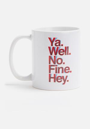 Sixth Floor Ya Well Mug Ceramic