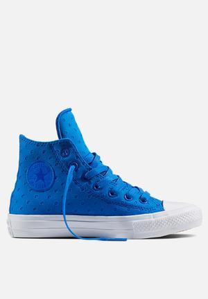 Converse Chuck Taylor All Star II Hi Shield Lycra Sneakers Soar / White