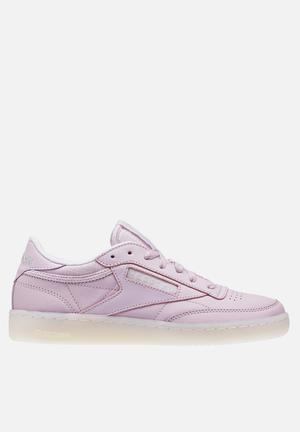 Reebok Pack On The Court Club C Sneakers Shell Purple/White/LGH Solid Grey