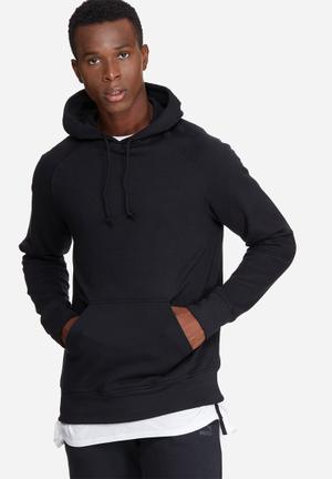 Basicthread Basic Pullover Hoodie Sweat Hoodies & Sweatshirts Black