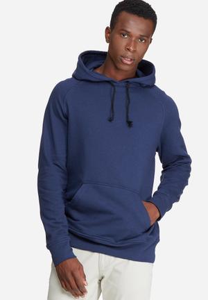 Basicthread Basic Pullover Hoodie Sweat Hoodies & Sweatshirts Navy