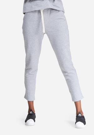 Dailyfriday Cropped Jogger Bottoms Grey