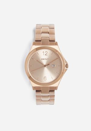 DKNY Parsons Watches Rose Gold