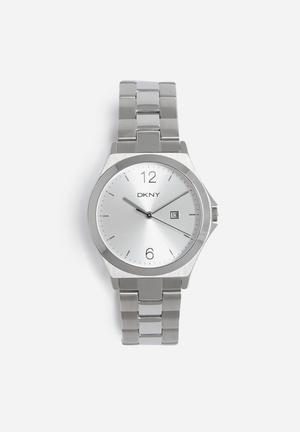 DKNY Parsons Watches Silver
