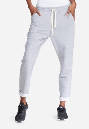 Dailyfriday Turn-up Jogger Bottoms Grey