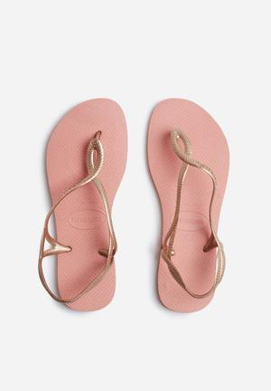 Havaianas Luna Sandals & Flip Flops Pink