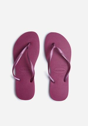 Havaianas Slim Sandals & Flip Flops Purple
