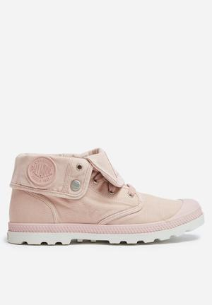 Palladium Baggy Low Boots Pink