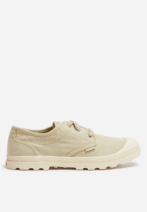 Palladium Pama Oxford Sneakers Stone