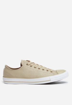 Converse Chuck Taylor All Star OX Sneakers Vintage Khaki/White/Brown