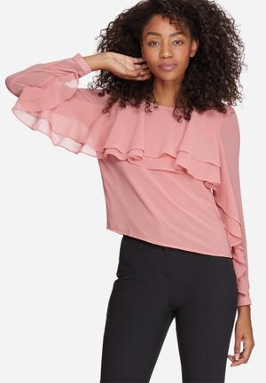 Adela layer blouse