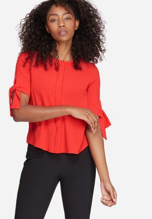 Vero Moda Gertrud Top Blouses Red