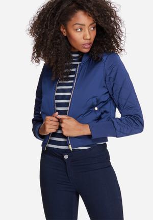 Vero Moda Tara Bomber Jacket Blue
