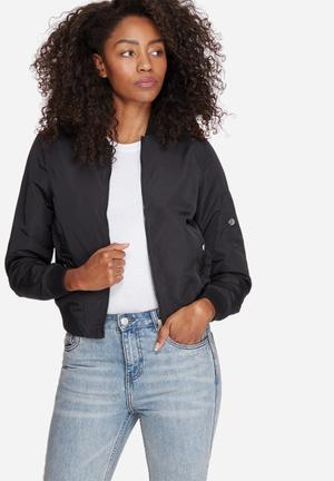 Vero Moda Dicte Bomber Jacket Black