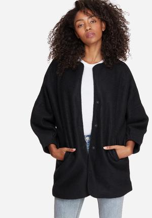 Vero Moda Frosty Wool Jacket Black