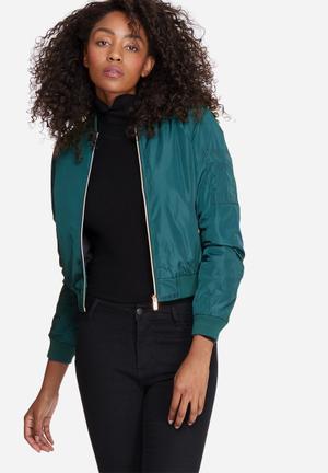 Vero Moda Elna Bomber Jacket Green