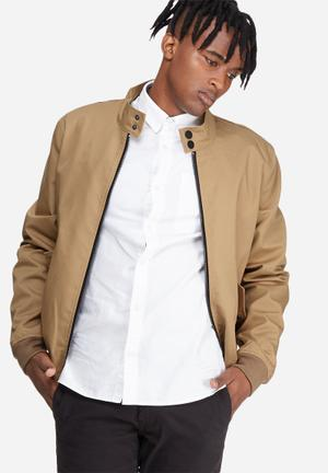 Only & Sons Norman Harrington Jacket Stone