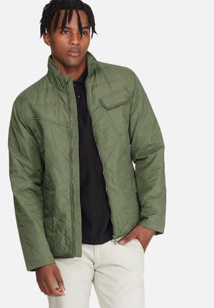 Jack & Jones Premium Brad Quilted Jacket Olive