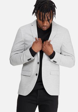 Jack & Jones Premium Zander Blazer Jackets & Coats Grey