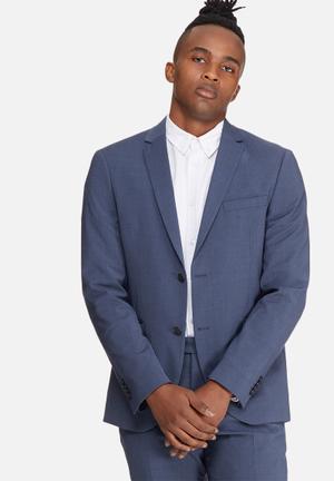 Jack & Jones Premium Gregory Slim Blazer Jackets & Coats Navy
