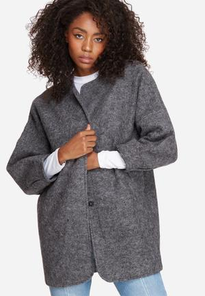 Vero Moda Frosty Wool Jacket Grey