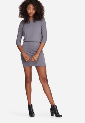 Vero Moda Orpo Dress Formal Grey