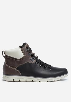 Timberland Bradstreet Hiker Boots Black