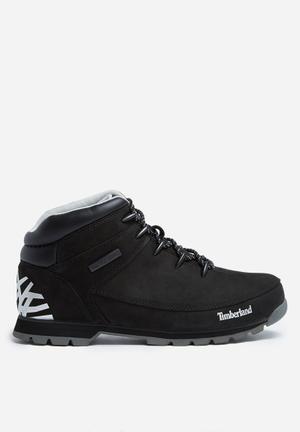 Timberland Euro Sprint Hiker Boots Black