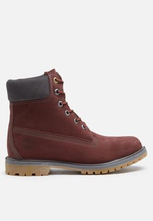 Timberland 6 Inch Premium Boot Dark Maroon