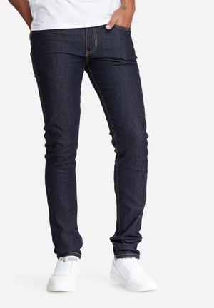 Basicthread Skinny Fit Denims Jeans Dark Blue