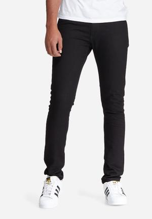 Basicthread Skinny Fit Denims Jeans Black