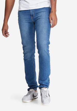 Basicthread Skinny Fit Jeans Blue