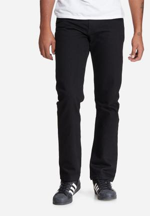 Basicthread Regular Fit Jeans Black