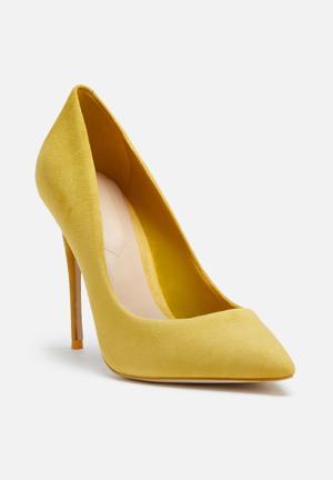 ALDO Stessy Heels Yellow