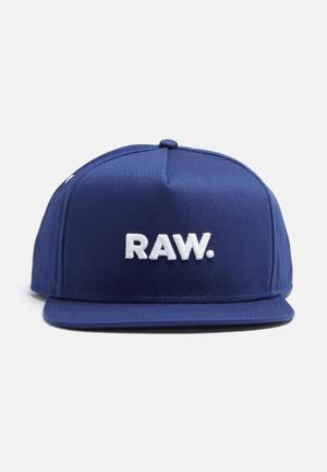 G-Star RAW Obaruh Snapback Cap Headwear Royal Blue