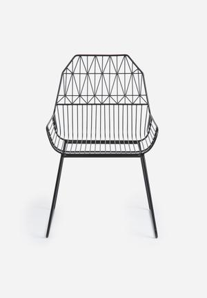 Sixth Floor Parth Wire Chair Metal