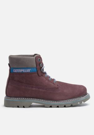 Caterpillar Colorado Boots Plum