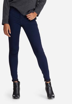 Jacqueline De Yong Ulle Regular Skinny Jeans Blue