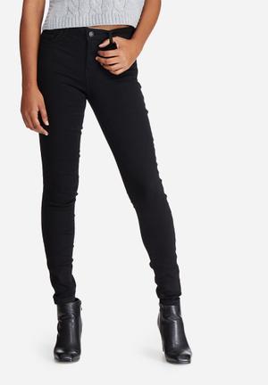 Jacqueline De Yong Ulle Regular Skinny Jeans Black