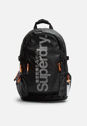 Superdry. Mega Ripstop Tarp Backpack Bags & Wallets Black