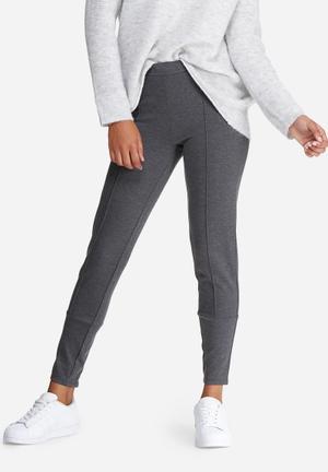 Vero Moda Lenny Ankle Pants Trousers Grey