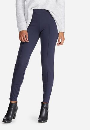 Vero Moda Lenny Ankle Pants Trousers Navy
