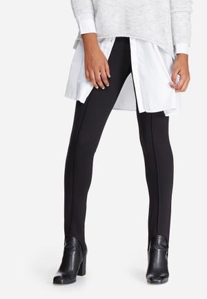 Vero Moda Stirrup Leggings Trousers Black