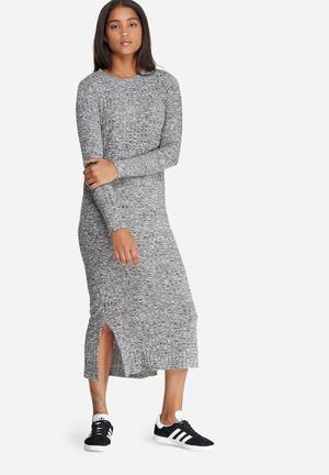 Vero Moda Nille Dress Casual Black & White